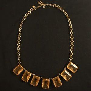 J. Crew Opaque Crystal Necklace